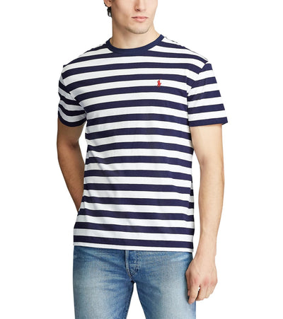 Polo Ralph Lauren  Classic Fit Striped T-Shirt  Navy - 710788875005-FNW | Jimmy Jazz