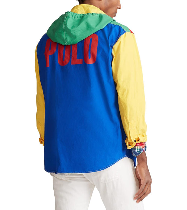 Polo Ralph Lauren  The Polo Sport Hooded Popover  Multi - 710789617001-MLT | Jimmy Jazz