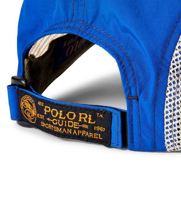 Polo Ralph Lauren  Saranac Fishing Cap  Blue - 710790280002 | Jimmy Jazz