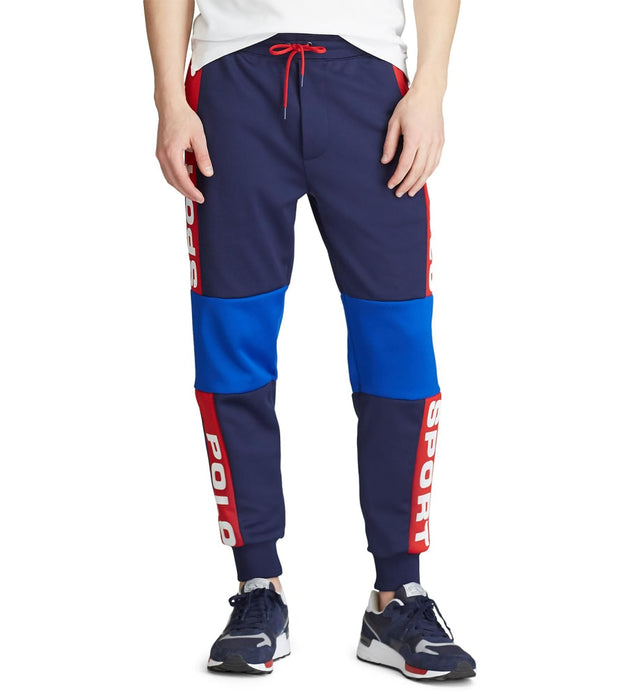 Polo Ralph Lauren  Polo Sport Mesh Track Pant  Navy - 710790303001-NNV | Jimmy Jazz