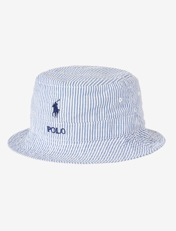 Polo Ralph Lauren  Loft Bucket Hat  Blue - 710791185001 | Jimmy Jazz