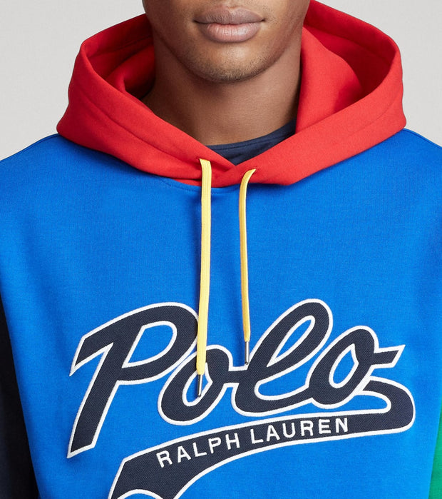 Polo Ralph Lauren  Color-Blocked Logo Hoodie  Multi - 710792890001-PRM | Jimmy Jazz
