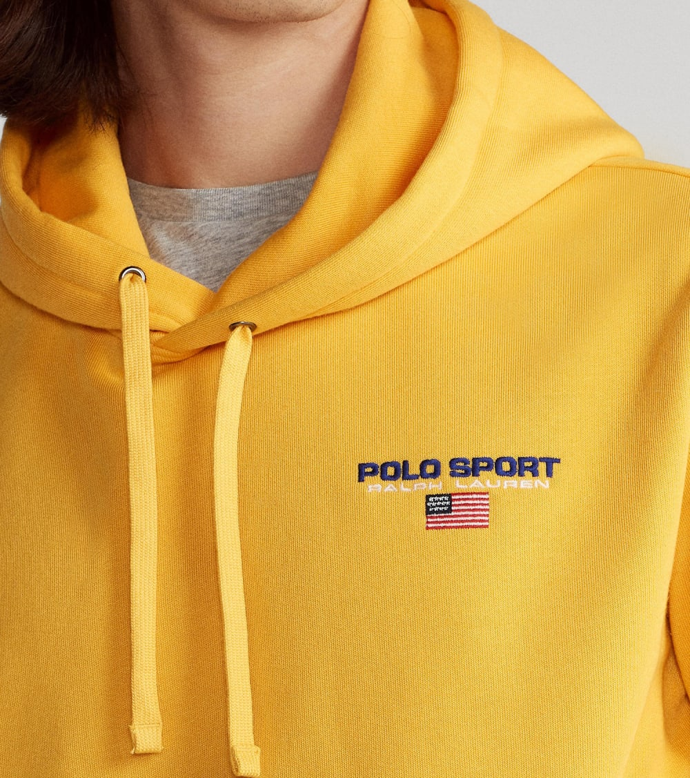 Polo Ralph Lauren  Neon Fleece Polo Sport Hoodie  Gold - 710792899009-GLD | Jimmy Jazz