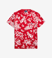 Polo Ralph Lauren  Classic Tropical Bear T-Shirt  Red - 710795249002-RED | Jimmy Jazz