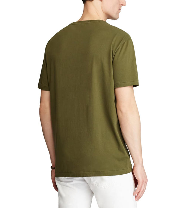 Polo Ralph Lauren  Classic Fit Logo T-Shirt  Green - 710800143001-DSA | Jimmy Jazz