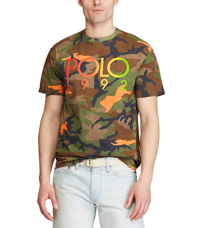 Polo Ralph Lauren  Classic Fit Polo 1992 T-Shirt  Green - 710800187002-CAM | Jimmy Jazz