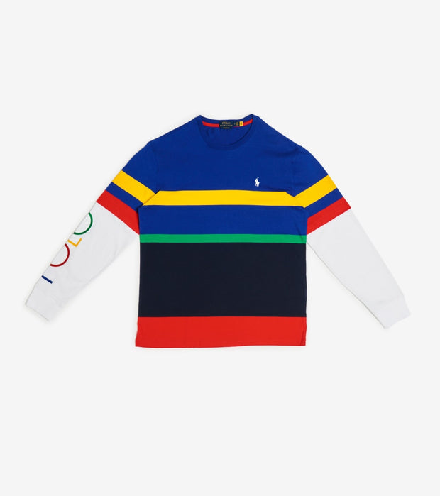 Polo Ralph Lauren  Rugby Royal Classic Fit Tee  Multi - 710800392001-MLT | Jimmy Jazz