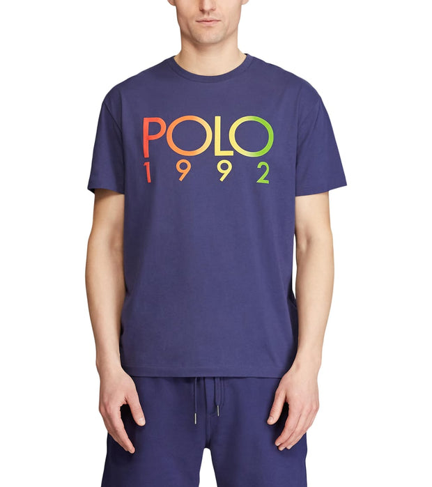 Polo Ralph Lauren  Gradient Polo 1992 Tee  Navy - 710800460001-BNV | Jimmy Jazz