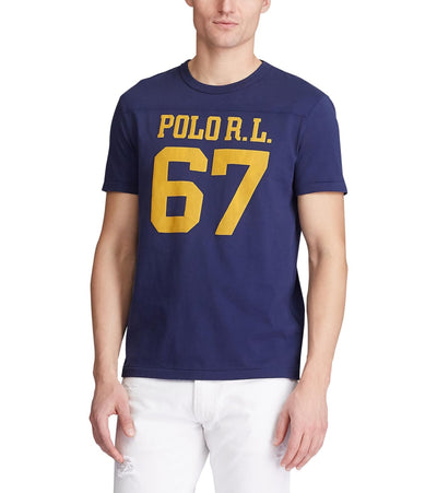 Polo Ralph Lauren  Classic Fit Graphic T-Shirt  Navy - 710800732001-CNV | Jimmy Jazz