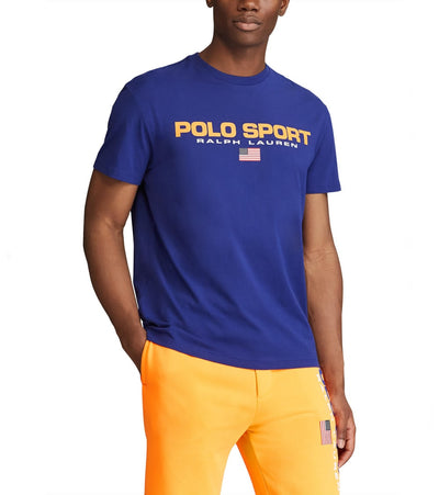 Polo Ralph Lauren  Polo Sport Icon Tee  Blue - 710800906001-FRL | Jimmy Jazz