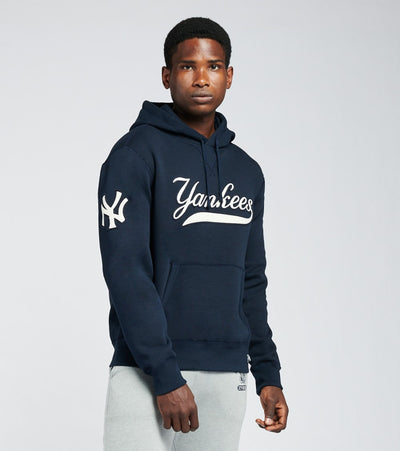 Polo Ralph Lauren  Yankees Hoodie  Navy - 710810472001-NVY | Jimmy Jazz