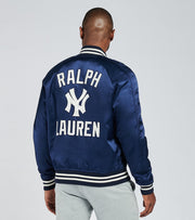 Polo Ralph Lauren  Yankees Baseball Jacket  Navy - 710810481001-NVY | Jimmy Jazz