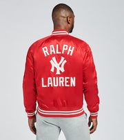 Polo Ralph Lauren  Yankees Baseball Jacket  Red - 710810481002-RED | Jimmy Jazz