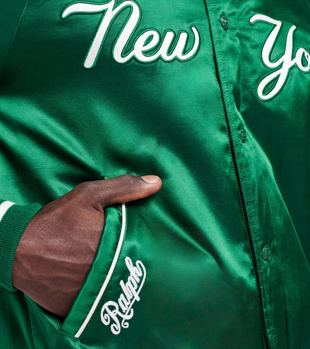 Polo Ralph Lauren  Yankees Baseball Jacket  Green - 710810481003-GRN | Jimmy Jazz