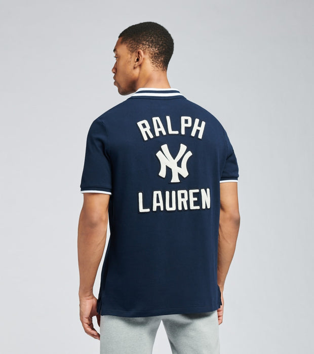 Polo Ralph Lauren  Yankees Polo Shirt  Navy - 710810493001-NVY | Jimmy Jazz