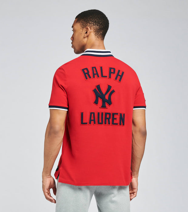 Polo Ralph Lauren  Yankees Polo Shirt  Red - 710810494001-RED | Jimmy Jazz