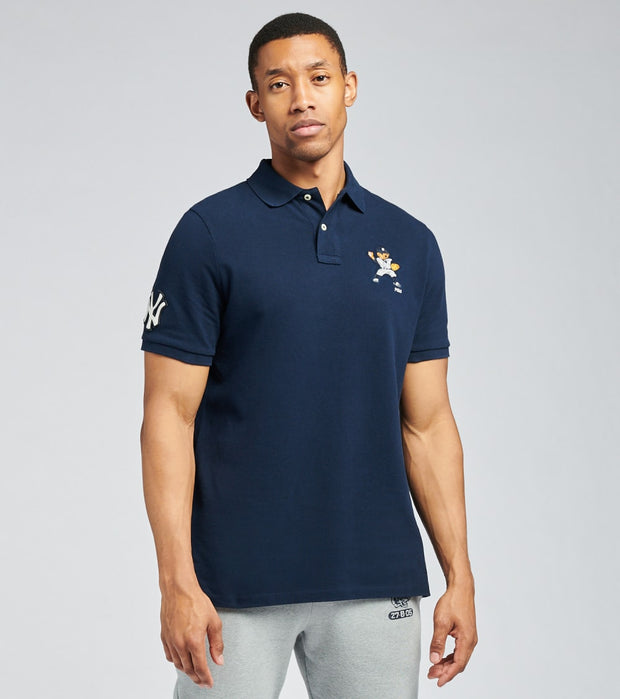 Polo Ralph Lauren  Yankees Bear Polo Shirt  Navy - 710810505001-NVY | Jimmy Jazz