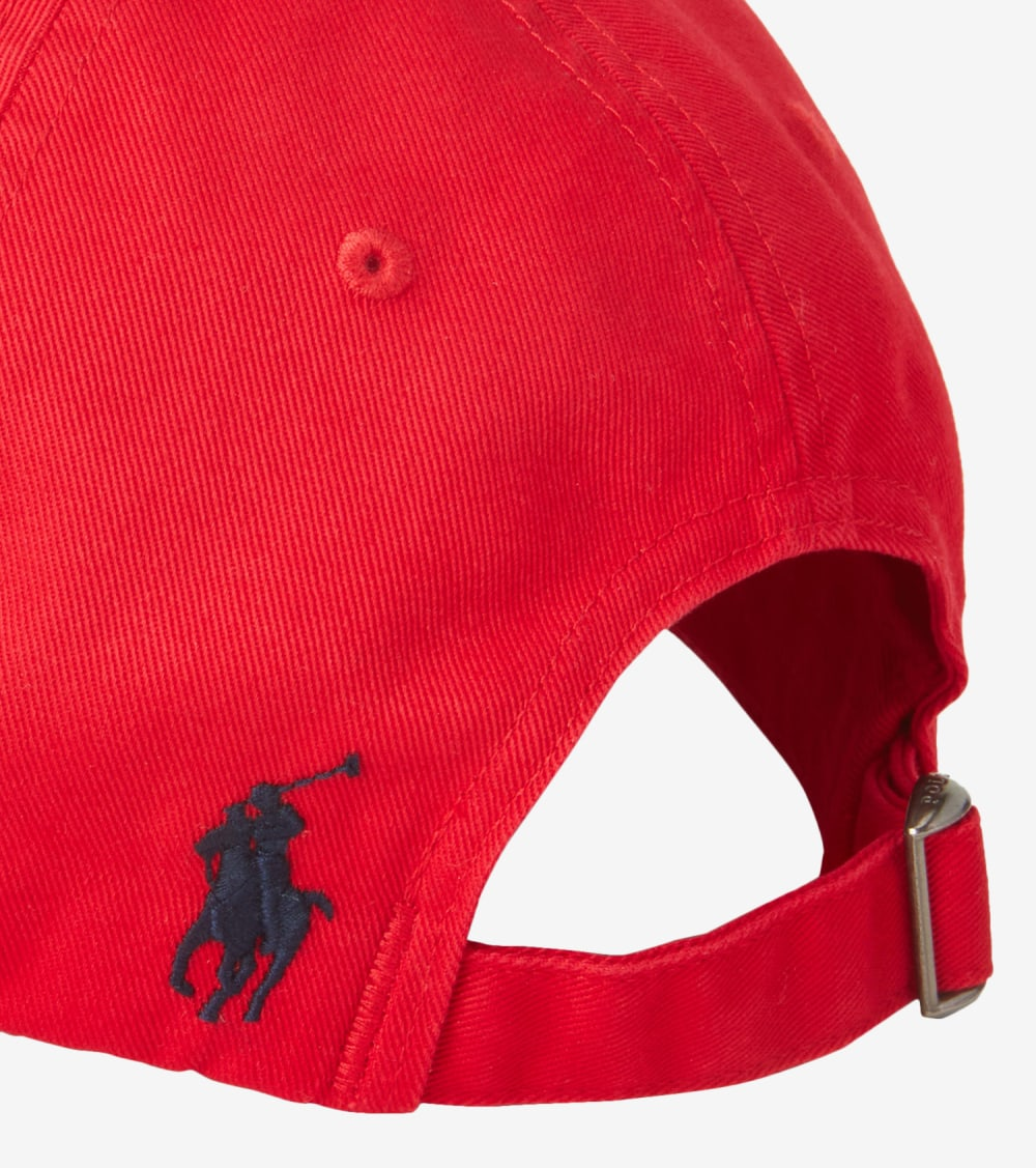 Polo Ralph Lauren  New Bond Chino Cap  Red - 710811364005-RED | Jimmy Jazz