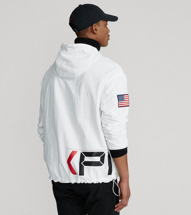 Polo Ralph Lauren  Polo Racing Heavy Freestyle Jacket  White - 710822731001-WHT | Jimmy Jazz
