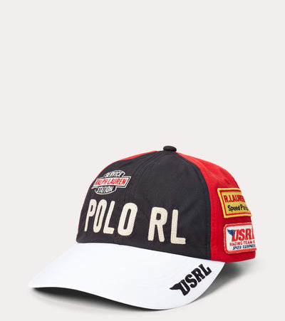 Polo Ralph Lauren  Polo Racing Cap  Black - 710823516001 | Jimmy Jazz