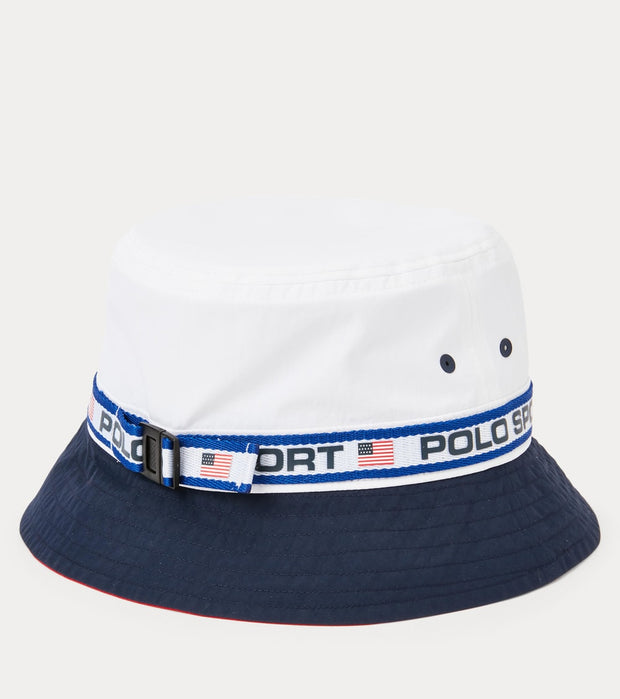 Polo Ralph Lauren  Polo Sport Bucket  White - 710833765001 | Jimmy Jazz