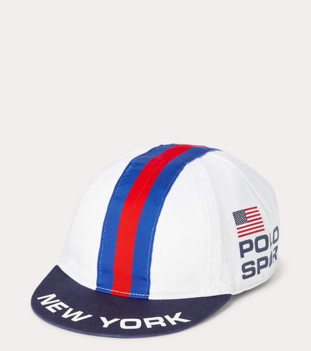 Polo Ralph Lauren  Polo Sport Cycling Cap  White - 710833766002 | Jimmy Jazz
