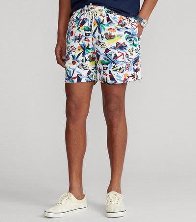 Polo Ralph Lauren  Traveler Deco Bearwaiian Shorts  Multi - 710834851001-NTC | Jimmy Jazz