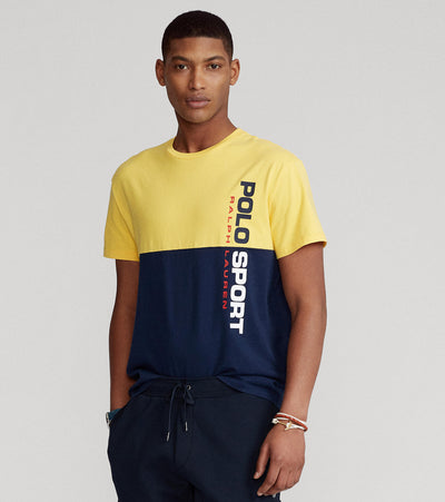 Polo Ralph Lauren  Polo Sport Short Sleeve M1 Tee  Yellow - 710836761003-YNV | Jimmy Jazz