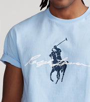 Polo Ralph Lauren  Polo Rider M1 Graphic Tee  Blue - 710839049003-EBL | Jimmy Jazz