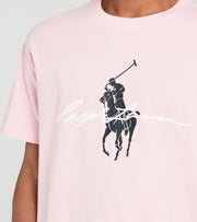 Polo Ralph Lauren  Polo Rider M1 Graphic Tee  Pink - 710839049004-PNK | Jimmy Jazz