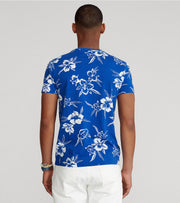 Polo Ralph Lauren  Animated Plans Floral Short Sleeve Tee  Multi - 710839425001-BLU | Jimmy Jazz