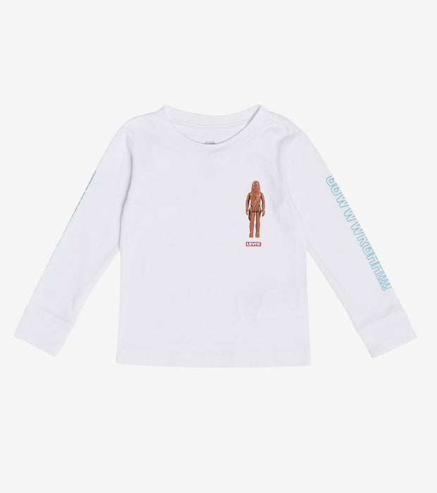 Levis  Boys Star Wars Chewbacca Tee  White - 71B455-001 | Jimmy Jazz