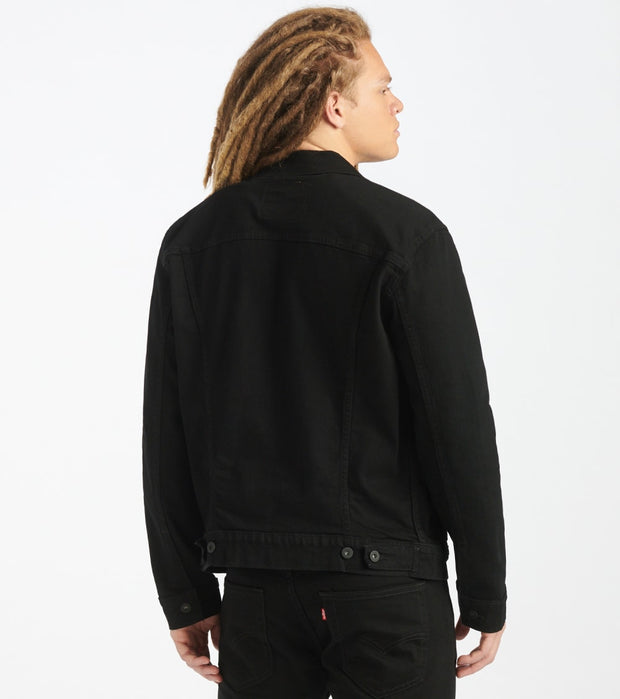 Levis  The Trucker Jacket  Black - 72334-0223 | Jimmy Jazz