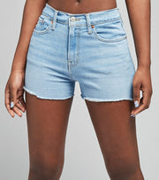 Levis  High Rise Shorts  Blue - 72878-0037 | Jimmy Jazz