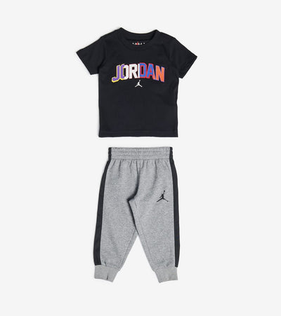 Jordan  Boys 91 To Infinity Jogger Set  Grey - 756396-GEH | Jimmy Jazz