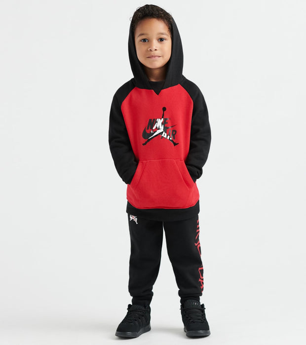 Jordan  Boys Jumpman Classics Hoodie/Jogger Set  Black - 756460-023 | Jimmy Jazz