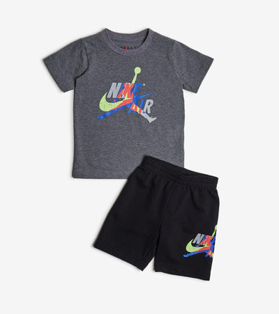 Jordan  2-4T Jumpman Tee Short Set  Black - 756941-023 | Jimmy Jazz