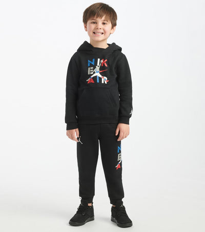 Jordan  TD Boys AJ4 Hoodie and Pant Set  Black - 757154-023 | Jimmy Jazz