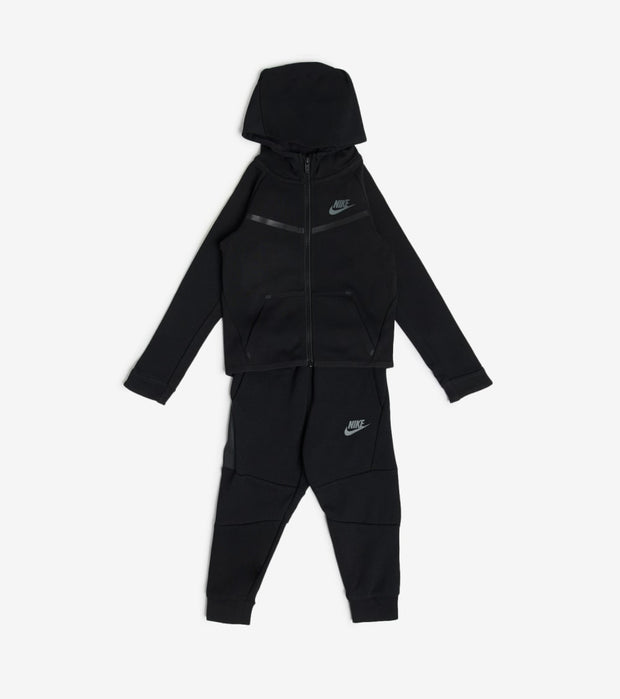 Nike  Boys Tech Fleece Set  Black - 76B400-023 | Jimmy Jazz
