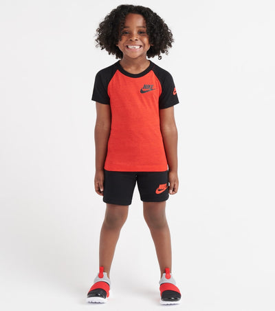 Nike  Sportswear Jersey Raglan/Short Set  Black - 76E752-023 | Jimmy Jazz