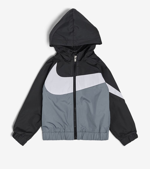 Nike  Boys' Oversized Swoosh Windrunner  Black - 76E884G-023 | Jimmy Jazz