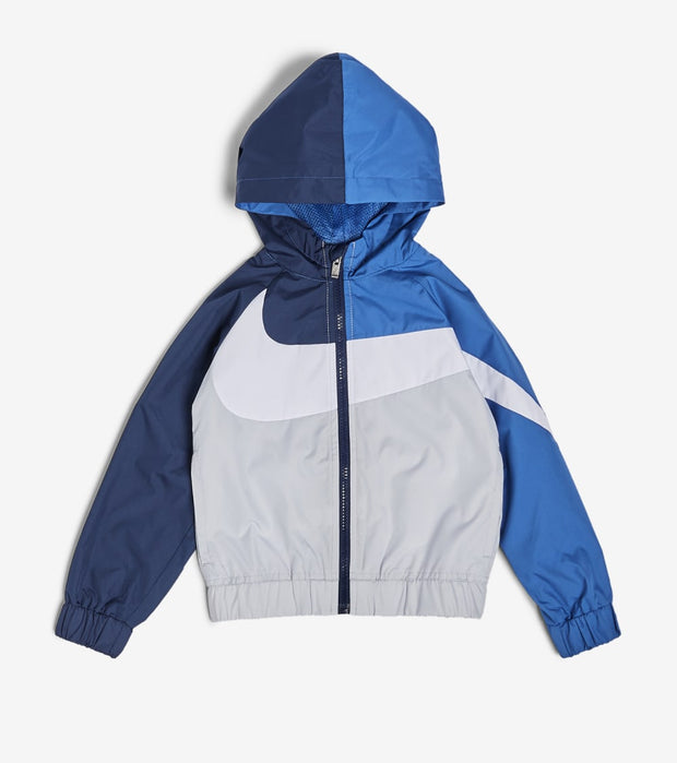 Nike  Boys Oversized Swoosh Windrunner  Blue - 76E884G-C53 | Jimmy Jazz