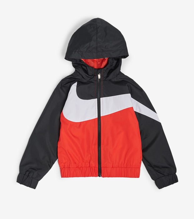 Nike  Boys Oversized Swoosh Windrunner  Red - 76E884G-U10 | Jimmy Jazz