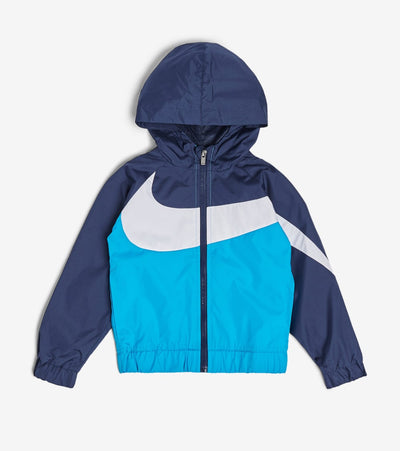 Nike  Boys' Oversized Swoosh Windrunner  Blue - 76E884G-U3H | Jimmy Jazz