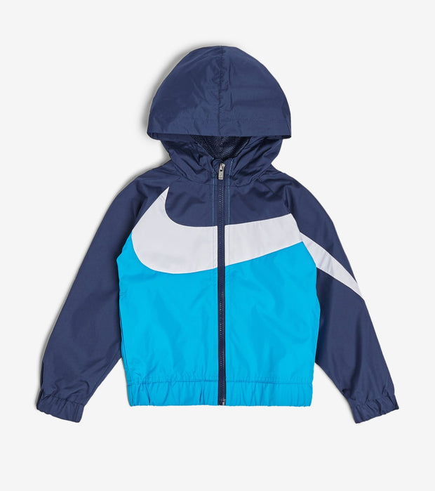 Nike  Boys Oversized Swoosh Windrunner  Blue - 76E884G-U3H | Jimmy Jazz