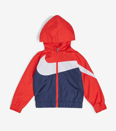 Nike  Boys' Oversized Swoosh Windrunner  Navy - 76E884G-U90 | Jimmy Jazz