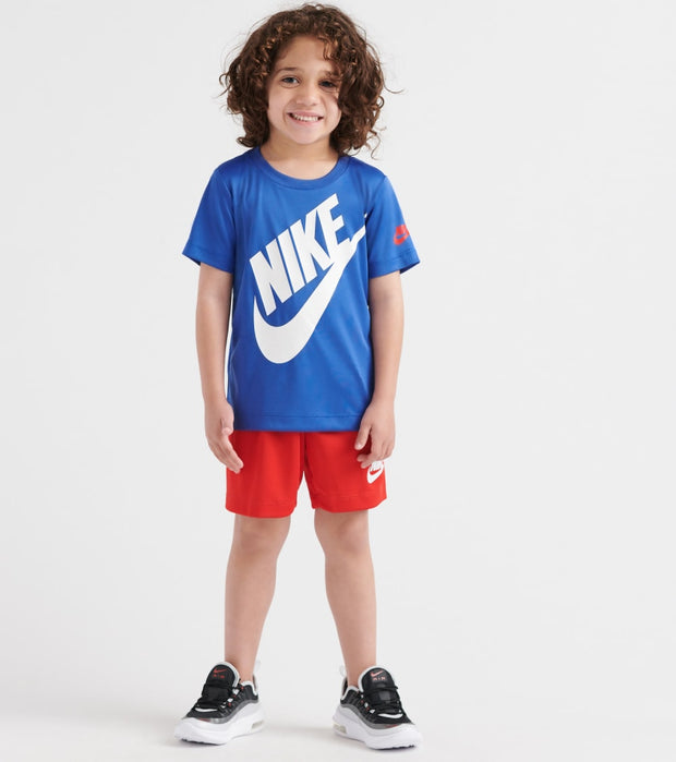 Nike  Futura Short Tee and Short Set  Blue - 76F024-U10 | Jimmy Jazz