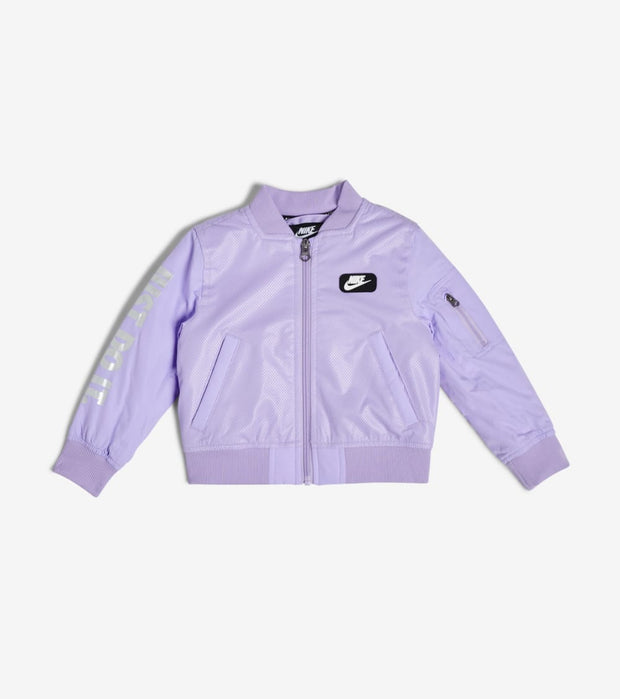 Nike  Boys' Lightweight Padded Bomber  Purple - 76F253G-P33 | Jimmy Jazz