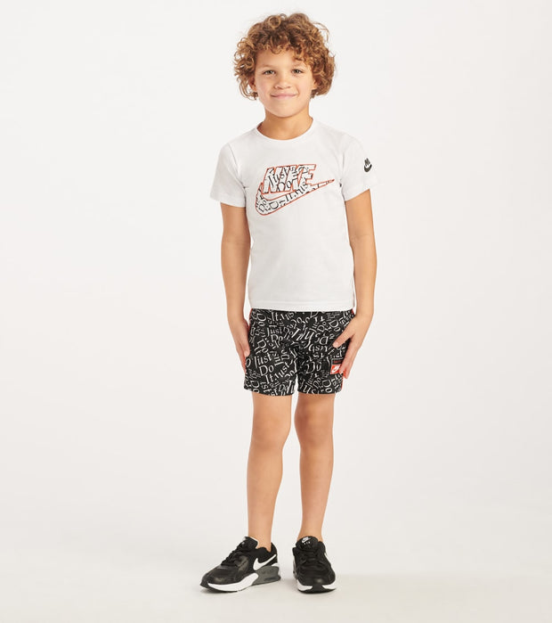 Nike  TD Boy Tee and Short Set  Black - 76G033-023 | Jimmy Jazz