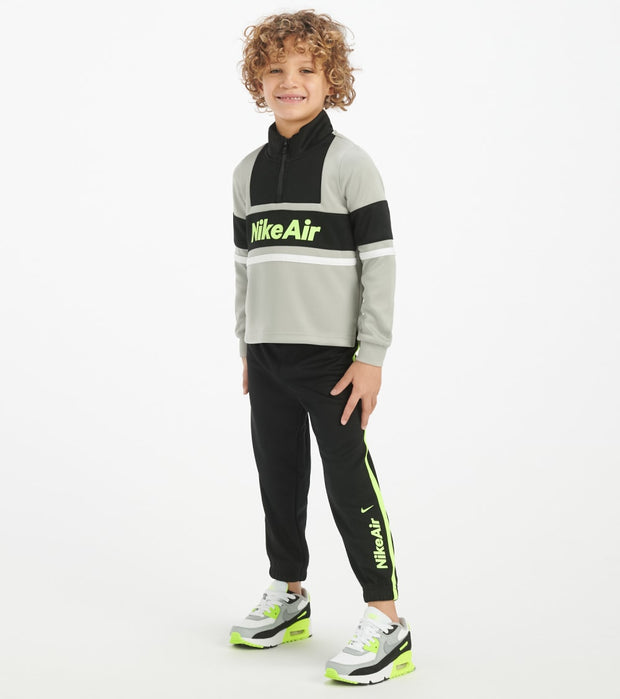 Nike  Toddler Boys Air Half Zip Jogger Set  Black - 76G069-023 | Jimmy Jazz